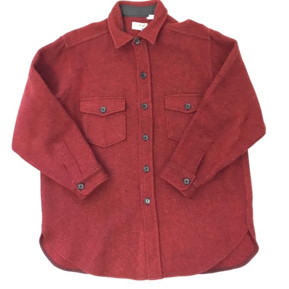 1219620230619 L.L. Bean Shirts | Vintage Ll Bean Xl Northwoods Wool Shirt Jacket ...